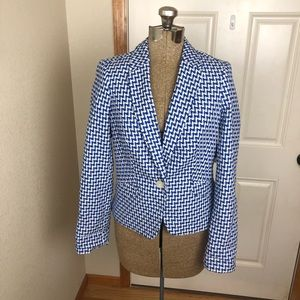 NWT The Limited Blue & White Blazer